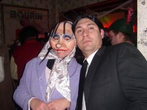 Katrin Girgensohn und John Travolta