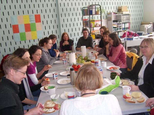 Mittagspause AK-Treffen 2010