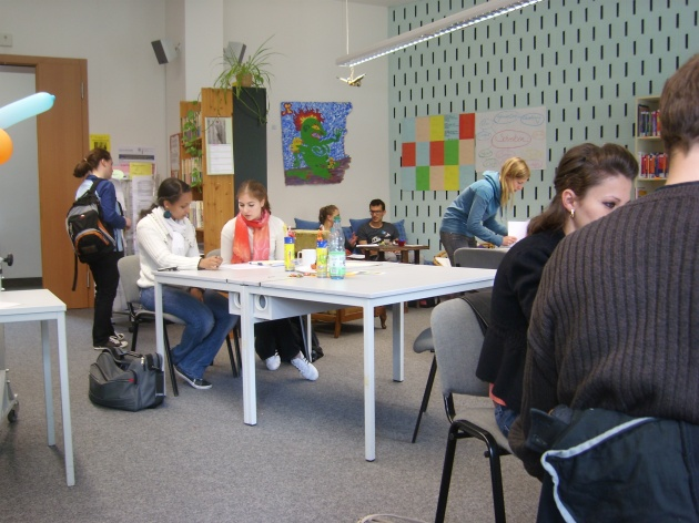 Ein Foto vom Schreibzentrum