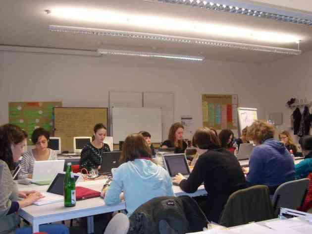 Bild von einem Seminar