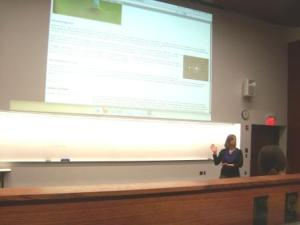 Stephanie White coteaches wiki lecture