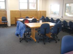 Blick in die zweite Location des Schreibzentrums