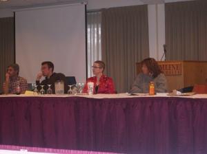 Writing Center Professionals in der Hamline University