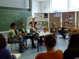 Rollenspiel zur Organisation von Schreibgruppen