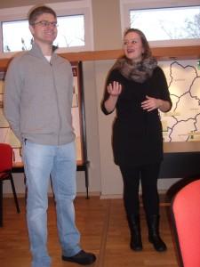 MIchal Zytinicec und Franziska Liebetanz