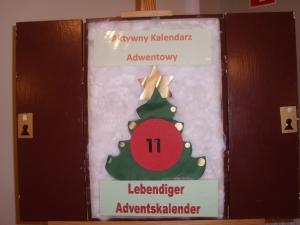Lebendiger Adventskalender Türchen 11
