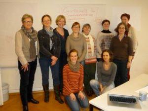 Der Gründungsvorstand der Gesellschaft für Schreibdidaktik und Schreibforschung