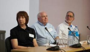 Keynote speakers Paula Gillespie, Brad Hughes and Harvey Kail