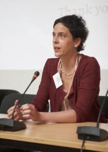 Keynote speaker Swantje Lahm