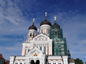 Alexander Nevsky Cathedral in Tallinn's old town