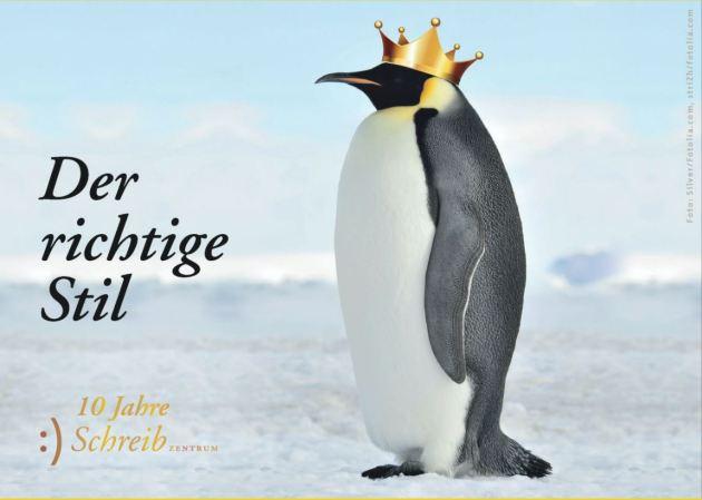 Pinguin mit Krone